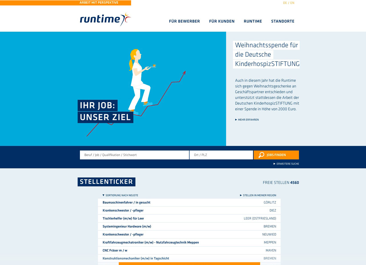 Runtime - Top Personaldienstleister